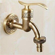 Wasserhahn Antike Messing Badezimmer Wandhalterung