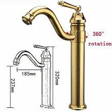 Wasserhahn Antike Messing Waschbecken Wasserhahn,