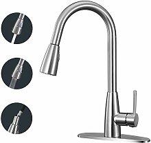 Wasserhahn Ausziehbar Küchenarmatur Mit Brause