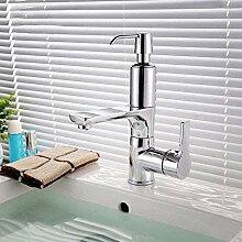 Wasserhahn Bad Wasserhahn mit Seifenspender Chrom