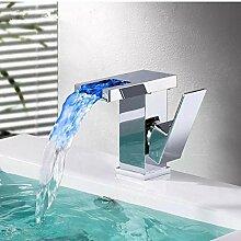 Wasserhahn Badezimmer Led Wasserfall Wasserhahn