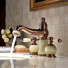 Wasserhahn Badezimmer-Set Waschbecken Wasserhahn