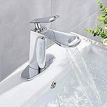 Wasserhahn Badezimmer Waschbecken Wasserhahn Chrom