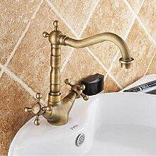 Wasserhahn Becken Wasserhähne Antik Bronze