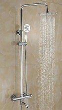 Wasserhahn Beschichtung Thermostat-Dusche
