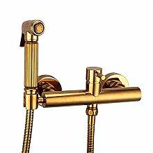 Wasserhahn Bidet Set für Toilette Kaltes heißes