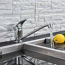 Wasserhahn Chrom Bad Küchenmischbatterie Deck