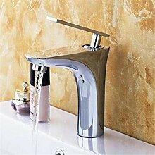 Wasserhahn Chrom Messing Retro Waschbecken Bad