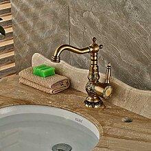 Wasserhahn Deck Montiert Antik Messing Badezimmer