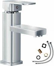 Wasserhahn eckig - Badarmatur, Waschtischarmatur,