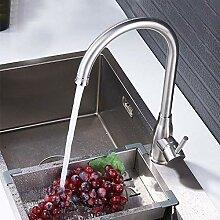 Wasserhahn Edelstahl Küchenarmatur Grad Rotation