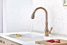 Wasserhahn Einloch-Küchenarmatur mit