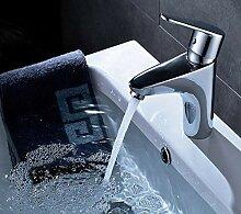 Wasserhahn Einlochbatterie Badarmatur für Warm-