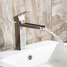 Wasserhahn,Einlochmontage Edelstahl 304