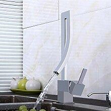 Wasserhahn Elegante Messing Badezimmer Platz