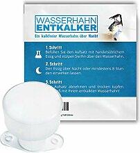 Wasserhahn Entkalker - Entkalken über Nacht mit