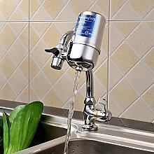 Wasserhahn Filter, Manfore 8 Stufig Drehbar Wasser Filtersystem / Wasserfilter Wasserhahn / Leitungswasser Filter Für Bad Und KüChe (Stil 1)