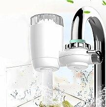 Wasserhahn Filter, Manfore 8 Stufig Wasser Filtersystem / Wasserfilter Wasserhahn / Leitungswasser Filter Mit Transparentem Sichtfenster Für Bad Und KüChe (Stil 3)