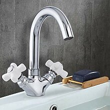 Wasserhahn Frap Doppelgriff Waschtischmischer