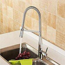 Wasserhahn,Frühling Küchenarmatur mit Griff