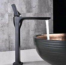 Wasserhahn für Badezimmer, goldfarben,