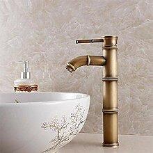 Wasserhahn für Badezimmer Mode Retro s gebürstet