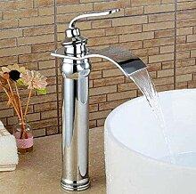 Wasserhahn für Badezimmer, Wasserfall, Wasserhahn
