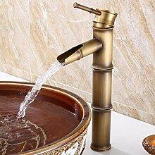 Wasserhahn für Badezimmer, Wasserhahn, Messing,