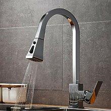 Wasserhahn für die Küche, aus Messing,