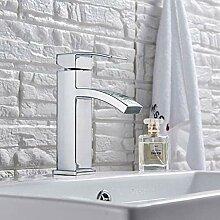 Wasserhahn für Küche, Chrom, Wasserfall,