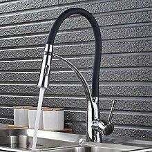 Wasserhahn für Küchenspüle, verchromt,
