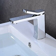 Wasserhahn für Waschbecken, Design aus Messing,