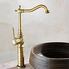 Wasserhahn für Waschbecken, hochwertig, Einhebel,