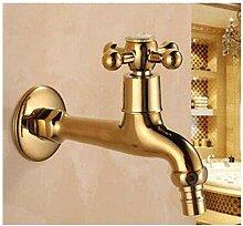 Wasserhahn Garten Wasserhahn Gold Messing