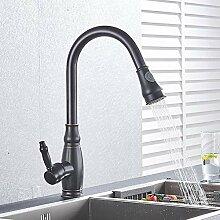 Wasserhahn gebürstet Nickel Küchenarmatur Heiß-
