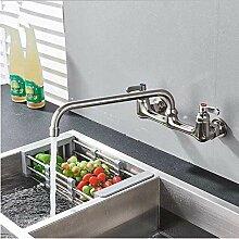 Wasserhahn gebürstet Nickel Küchenarmatur