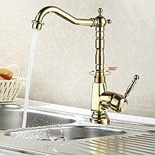 Wasserhahn Gold Farbe Waschbecken Wasserhahn Mixer