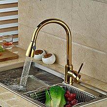 Wasserhahn Gold Messing