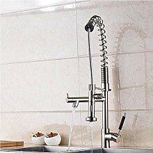 Wasserhahn Großer Spring Pull Down Küchenarmatur