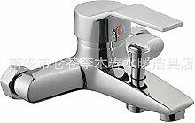 Wasserhahn, heißes und kaltes Waschbecken,