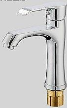 Wasserhahn heißes und kaltes Waschbecken