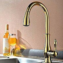 Wasserhahn Hochbogen-Küchenarmatur mit