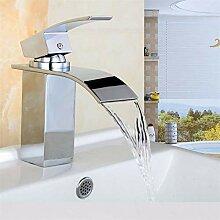 Wasserhahn Kreative Wasserfall Waschbecken