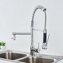 wasserhahn küche 360 ° Drehung aus Messinghahn -