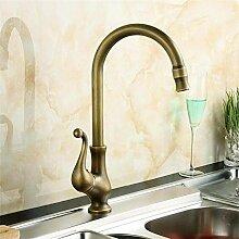 Wasserhahn küche Antike Kupfer Küchenarmatur
