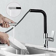 Wasserhahn Küche Ausziehbar, WOOHSE 360°