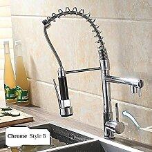 Wasserhahn Küche Chrome Spring Küchenarmatur