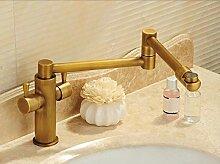 Wasserhahn Küche Küchenarmatur Antiken Klappbar,