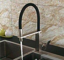 Wasserhahn Küche Küchenarmatur Quadrat Messing