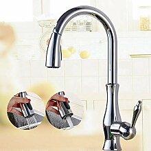 Wasserhahn Küche Messing Küchenarmatur Nickel
